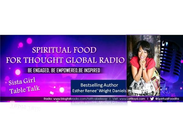 #WhatsUnderYourRug? Have you been harboring unforgiveness, bitterness, and feelings of self-defeat? Join us for our segment of ‪#‎SistaGirlTableTalk‬ on Spiritual Food for Thought Global Radio >Special Guest ‪#‎FABVTours‬ Bestselling Author Esther Renee Wright Daniels *LIVE Friday, Aug 15th @ 7:30pm est. Dial in (602) 753-1683 or Stream in => http://tobtr.com/s/6794949