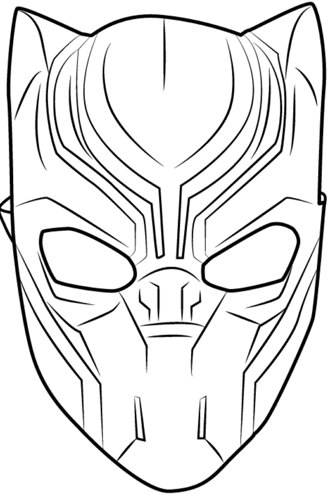 Coloriage De Black Panther.2018 Kids Birthday Party 2018 Kids Birthday Party In 2019