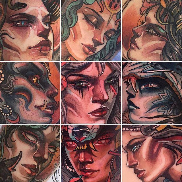 Resident artist - Isnard Barbosa@ Dublin Ink #tattoo #art #Dublin #Ireland