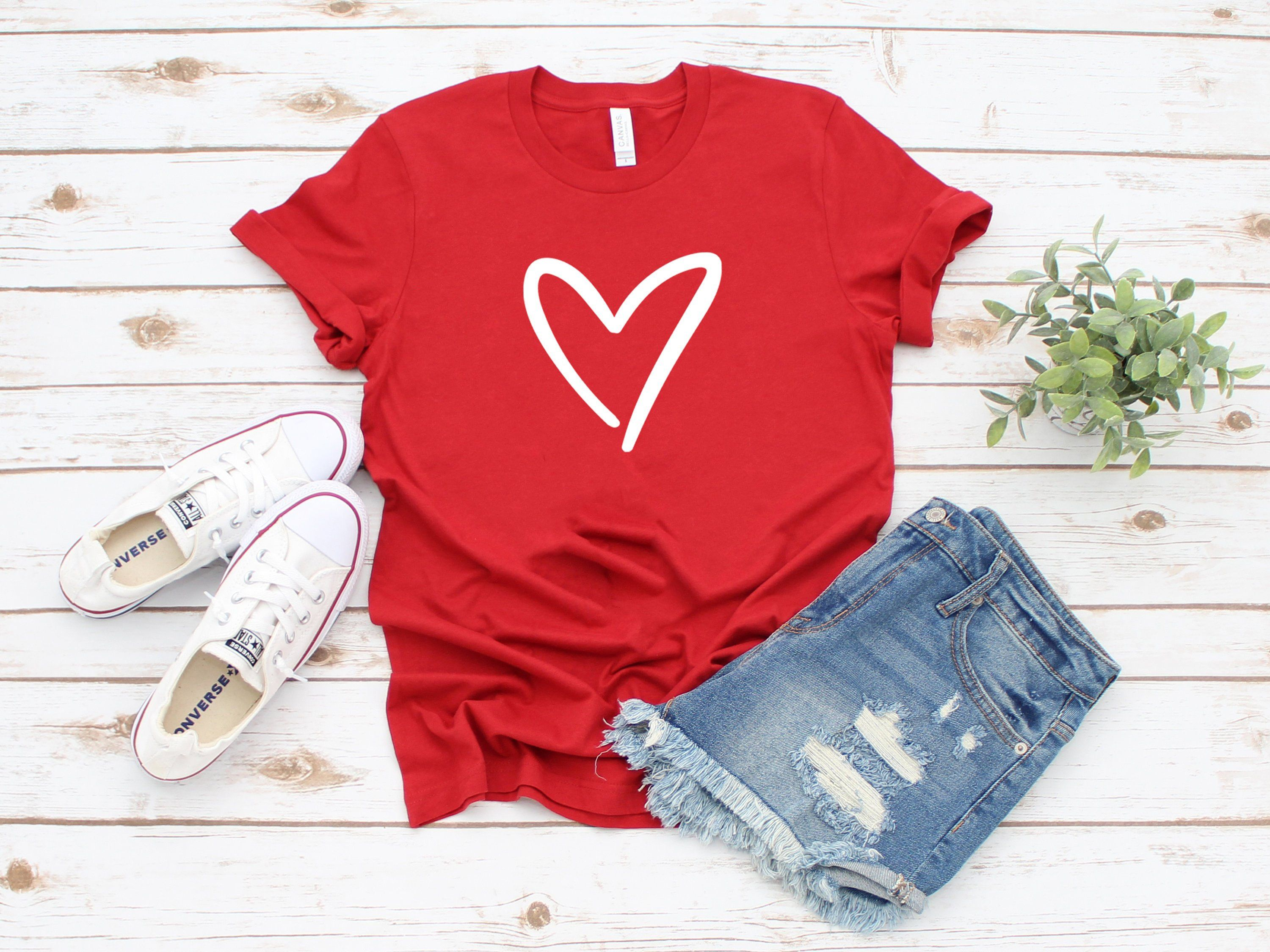 I Love Heart My Pomeranian Ladies T-Shirt