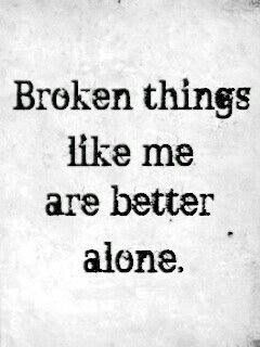 Alone Quotes Alluring 20 Alone Quotes  Pinterest  Glass Deep Quotes And Thoughts