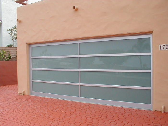 Model Bp 450 Size 15 10 X 6 11 Frame Clear Anodized Aluminum Glass 1 4 Laminated Obscured White Locat Glass Garage Door Garage Doors House Exterior