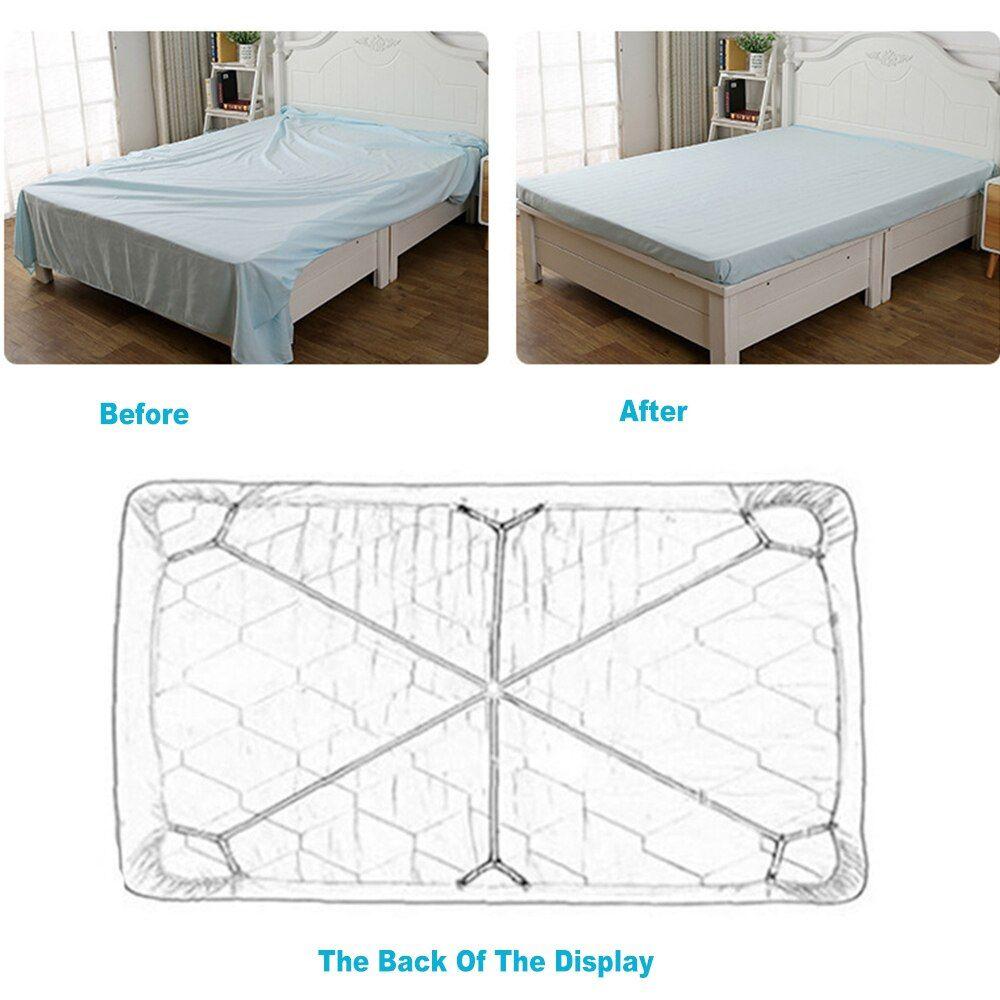 Bed Sheet Holder Elastic Adjustable Bed Sheet Clips Blanket Mattress Securing Clips Fasteners Adjustable Bed Sheet Holder S In 2020 Adjustable Beds Bed Sheets Mattress