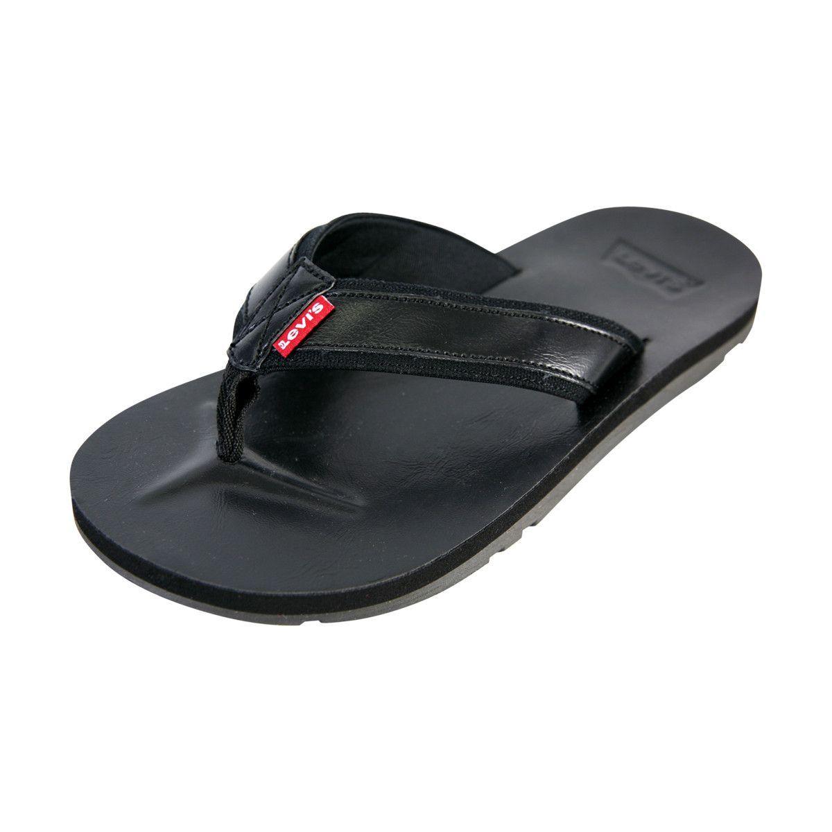 Levi's - Men's Heartland Flip Flop/Sandals - Black