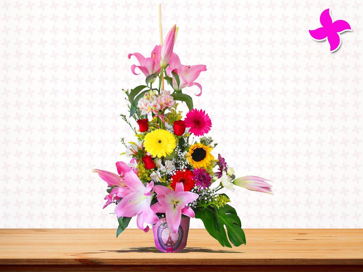 Los miércoles son esos días de la semana donde necesitas un toque de energía para terminar la semana. Y no hay nada mejor que regalar unas hermosas #flores de Florería Miztli #Querétaro!