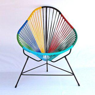 Technicolor Acapulco Chair By Ocho Workshop Via Fancy