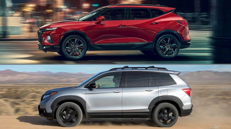 Auto Showdown 2019 Honda Passport Vs 2019 Chevrolet Blazer Honda Passport Chevrolet Blazer Chevrolet