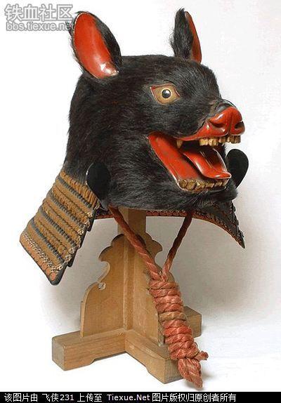 天雷滚滚!那些日本奇形怪状的头盔(图24)