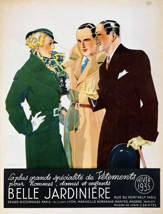 Belle Jardiniére | Retro advertising | Vintage poster #Affiches #Retro #Vintage #Ads #Adverts #SXX #deFharo #Publicidad