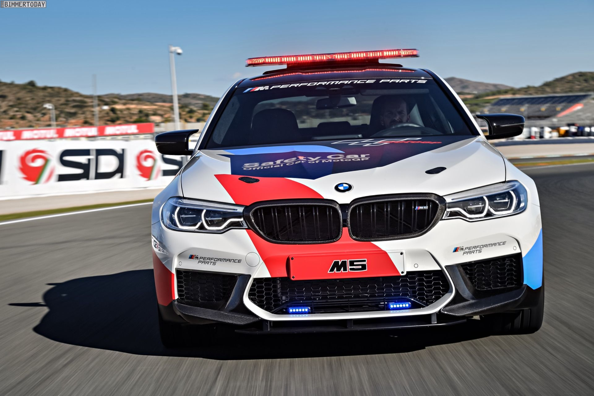 New Photo Gallery Of The Bmw M5 Safety Car Bmw Bmw M5 Car Safety