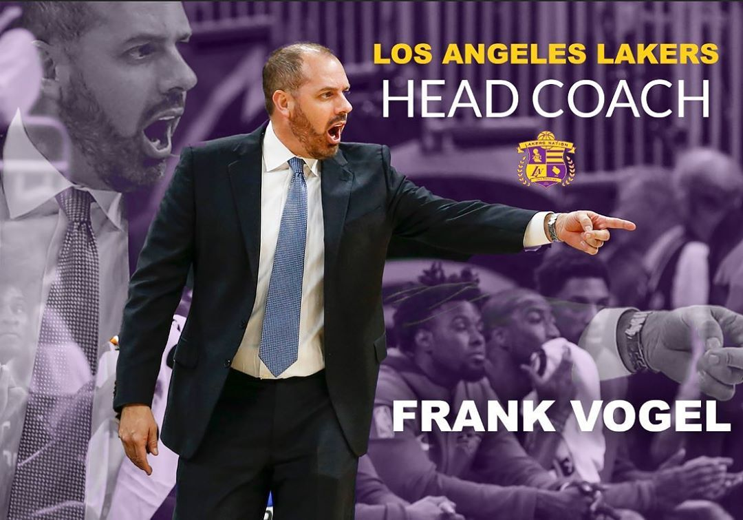 Lakers Hire Frank Vogel As New Head Coach According To Wojespn Jason Kidd Has Agreed To Join Vogel In A Prominent Assistant Coachi Jason Kidd Lakers Coaching