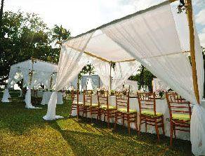 bamboo tenting | ArcDivine.com :: Miami Acrylic Chuppah ...