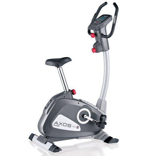 Kettler Cycle M Exercise Bike New Model Grey Silver White