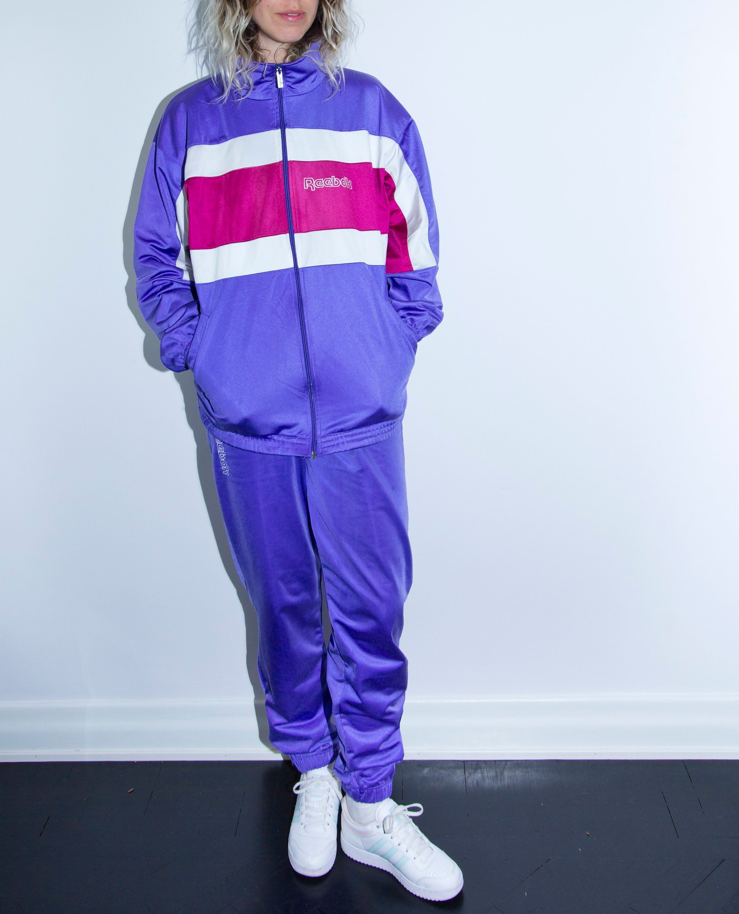 new product bdf3a 68d8a 80s / 90s Reebok Tracksuit 80's 90's Vintage Jacket and ...
