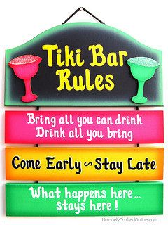 Tiki Bar Sign By Ucsign On Etsy