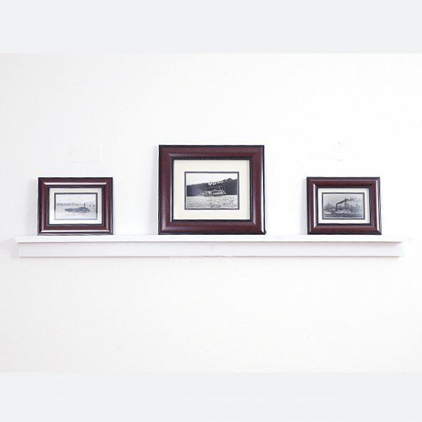 Beech Wood Picture Shelf Change Around Photo Frames And Artwork Or