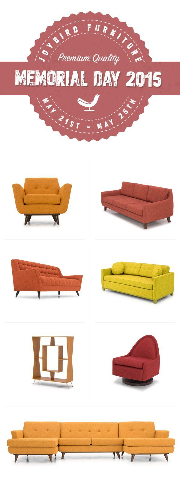 Joybird A Mid Century Modern Online Furniture Company Based Out Of L.A.  Design At Your Fingertips, We Deliver It For Free.