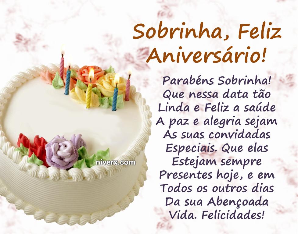 Mensagem De Aniversário Para Sobrinha Linda Aniversário De Irmã Feliz Aniversario Para Sobrinha Feliz Aniversário Sobrinha