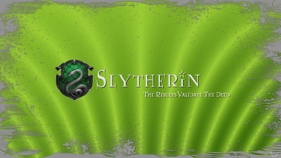 Hogwarts House Wallpaper Slytherin By Theladyavatar On Deviantart