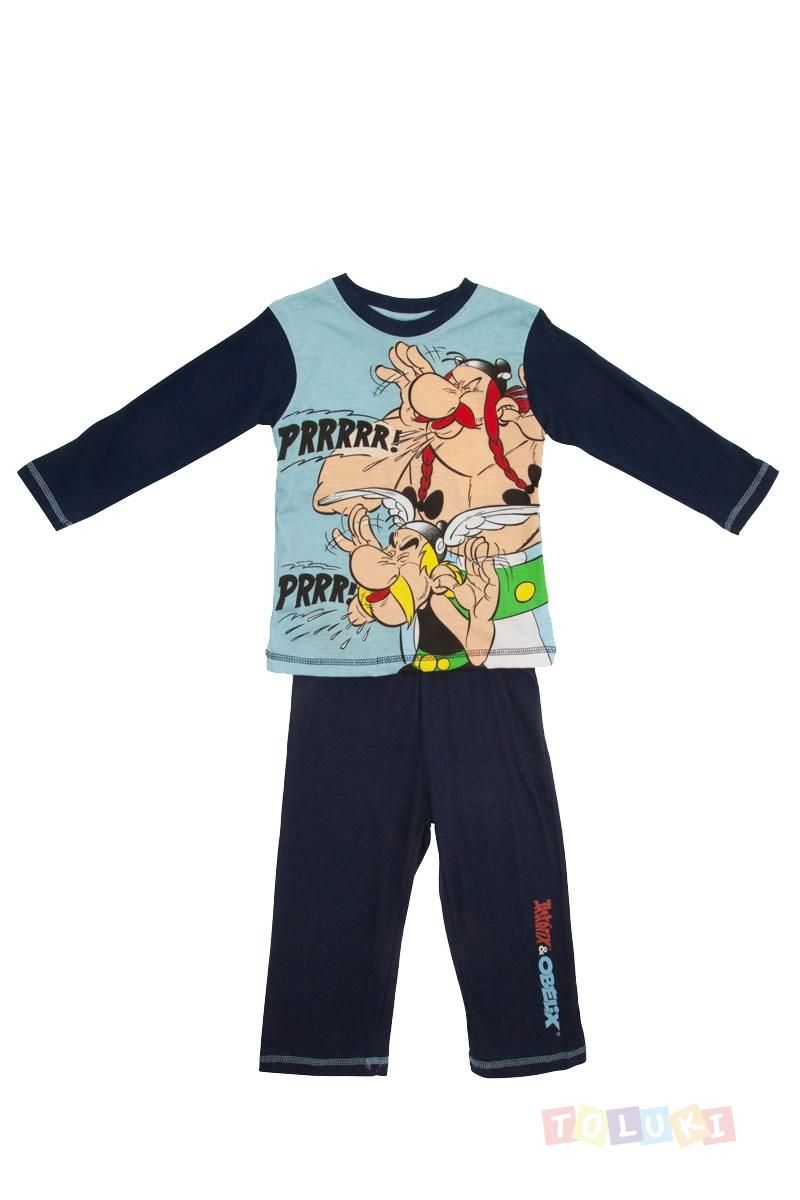 Pyjama Garçon Astérix bleu marine | http://www.toluki.com/ #Toluki #enfant