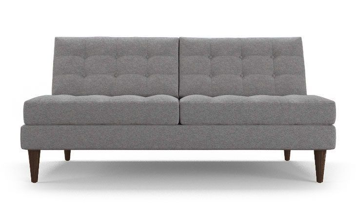 Incredible Eliot Armless Loveseat Products Sofa Bed No Arms Love Alphanode Cool Chair Designs And Ideas Alphanodeonline
