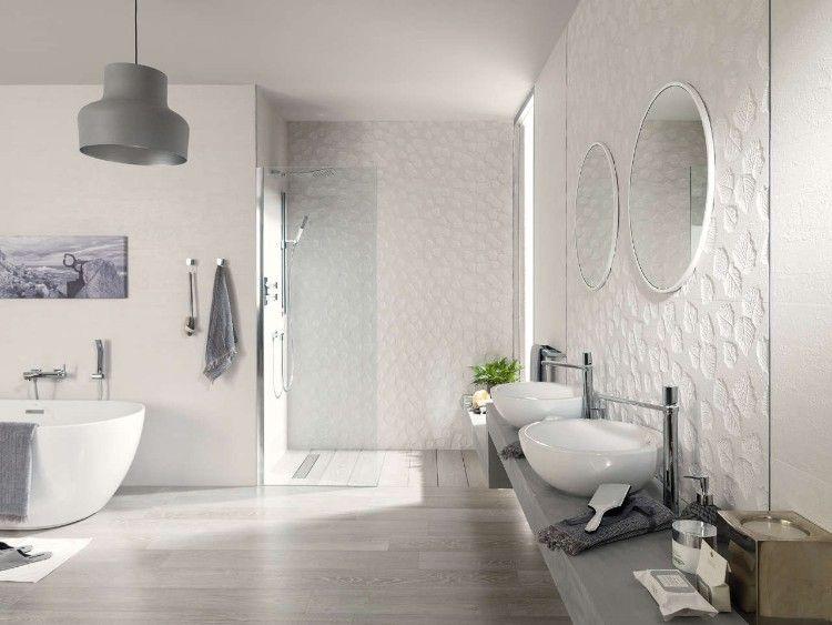 Salle de bain moderne d couvrez nos nouvelles id es sans - Concevoir salle de bain ...