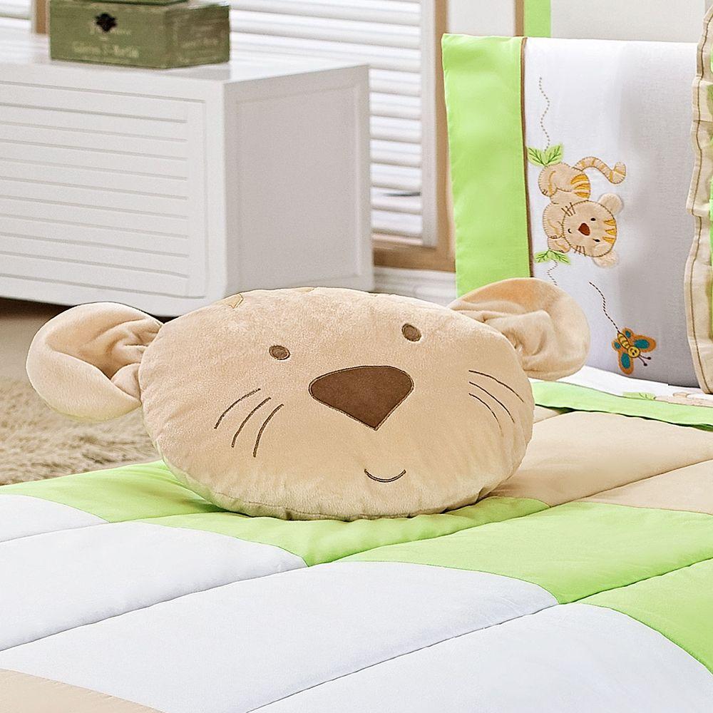 Almofada Decorativa Tigre Baby Selva - Paulinha Baby