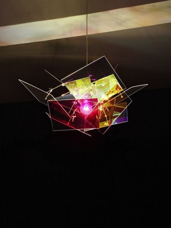 Plexiglass radiant pendant light by evonik r hm made from for Radiant plexiglass
