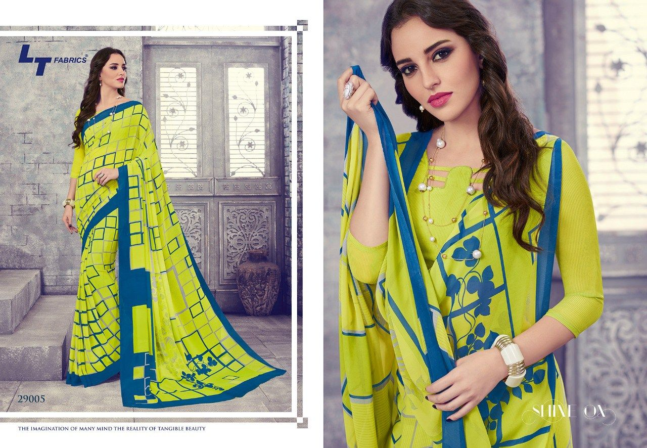 556a1fd1 LT FABRIC ZARA VOL 23 WEIGHTLESS PRINTED SAREE CATALOG MANUFACTURER  WHOLESALER AND EXPORTER OF INDIAN ETHNIC WEAR IN INDIA   Sagar Impex