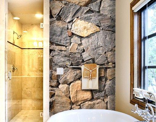 Wand Steinoptik tapete in steinoptik papiertapete no 15 wall of granite