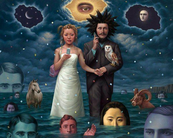 surrealismo pop Alex Gross