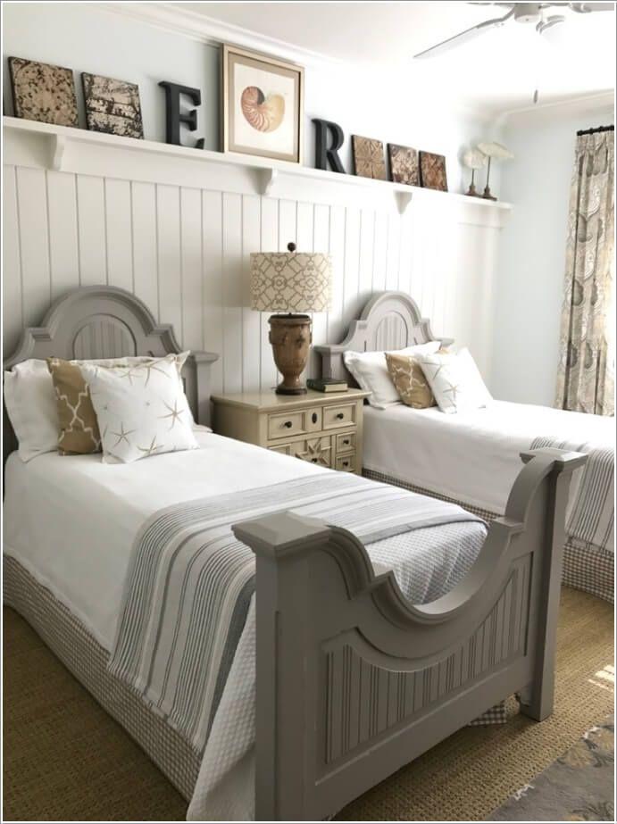 Amazing 2 Single Beds Room Ideas Luxury Bedroom Furniture Beach Bedroom Decor Twin Beds Guest Room