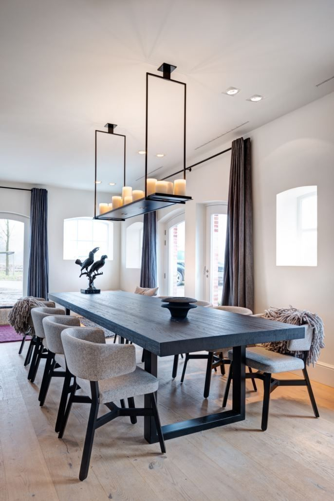 House P A Modern House With Nine Rooms For Routine Activities Dining Room Interiors Elegant Dining Room Dining Room Makeover