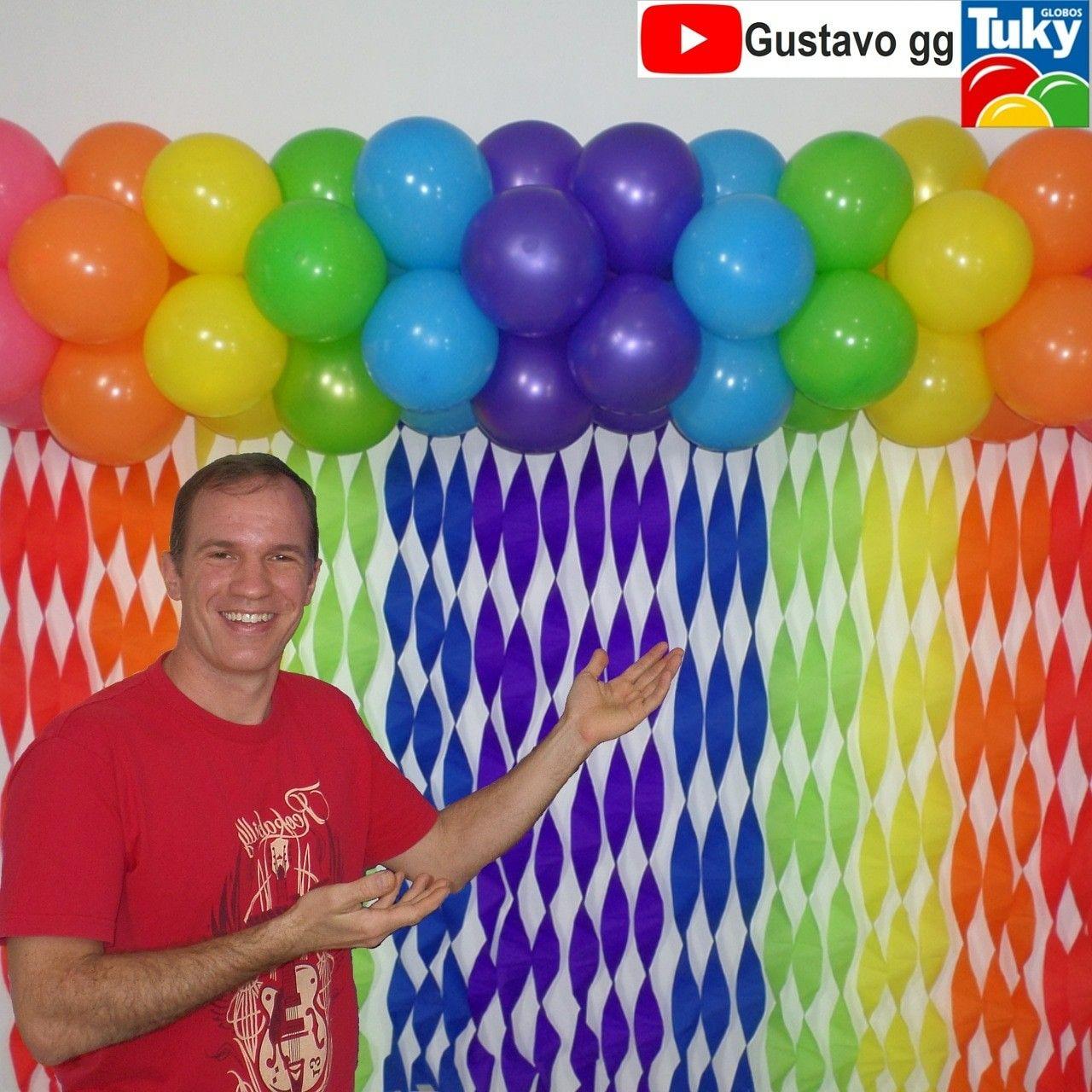 17 Como hacer decoracion con globos