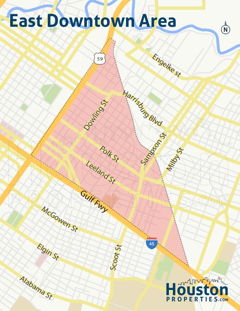 East Downtown Houston Maps Two New Eado Neighborhood Maps Eado