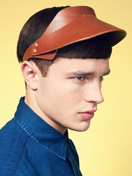 The Look of Leather / The Leather Visor by Fleet Ilya ...
