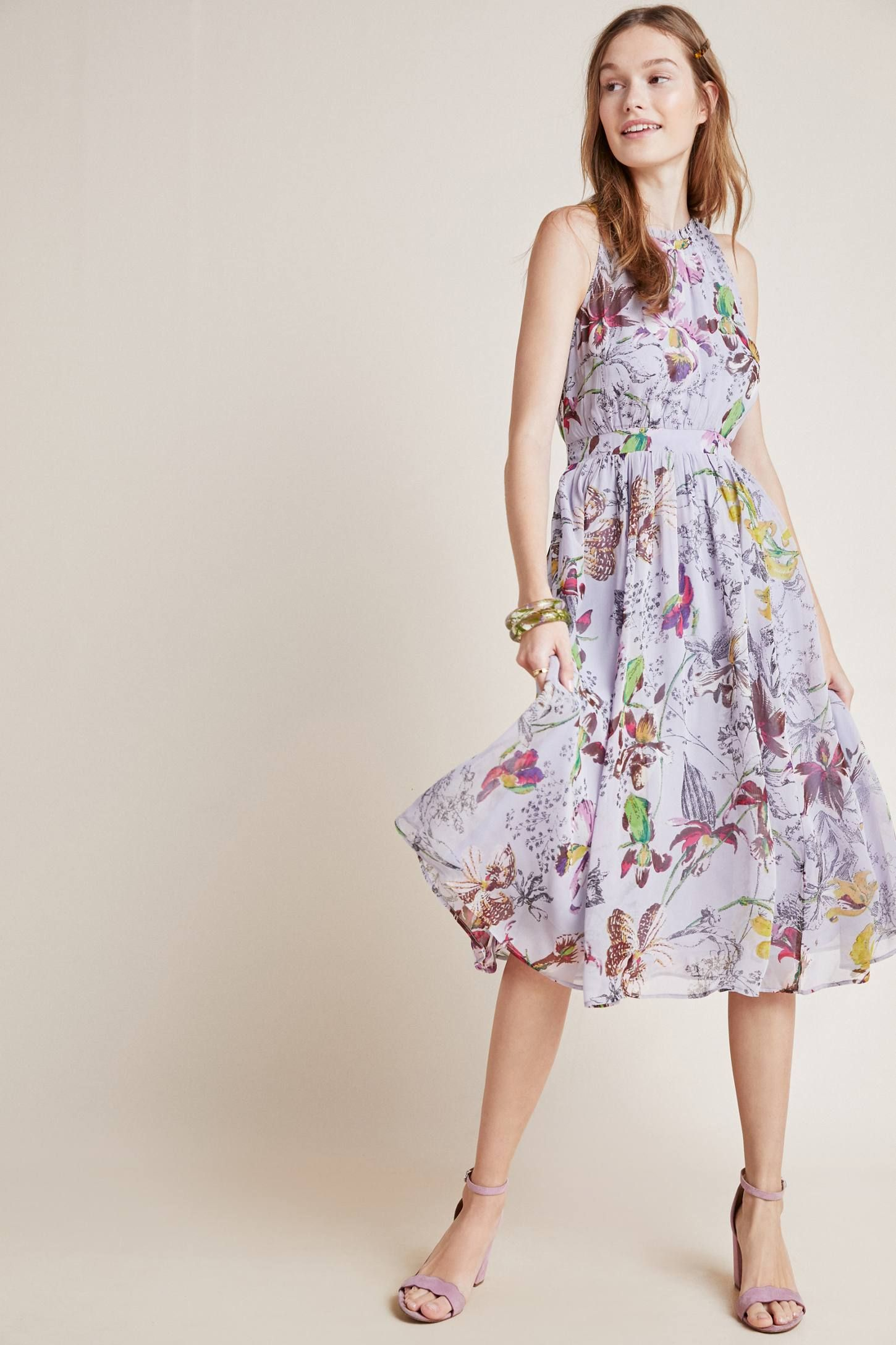 1e419861610da Hermia Midi Dress in 2019 | Dress to Impress | Dresses, Floral midi ...
