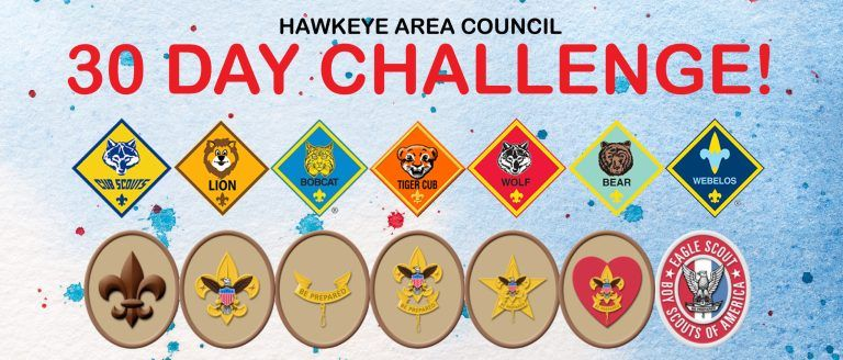 30 Day Challenge In 2020 Scout Boy Scouts Of America