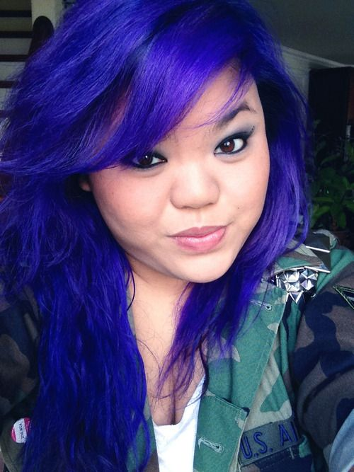 Sincerelykimbui Jewel Toned Hair Manic Panic S Shocking Blue For