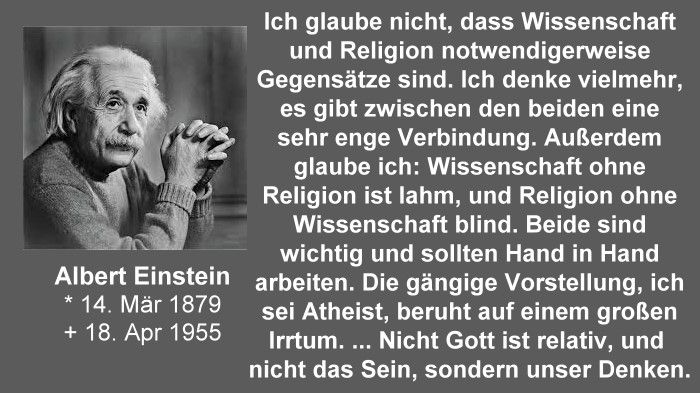 Albert Einstein Wissenschaft Und Religion Religionswissenschaft Spruche Einstein Christliche Zitate Wahrheiten