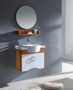 Peek A Boo Sink With This Floating Cabinet 25 5 Inch Modern Single Sink Bathroom Vanity In N Single Sink Bathroom Vanity Bathroom Sink Vanity Legion Furniture