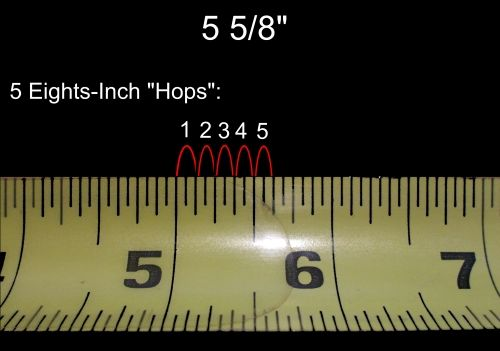 How To Read A Tape Measure With Images Tape Measure Tape Reading