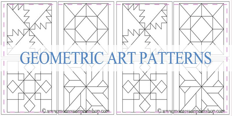 Geometric Art Pattern | Barn Quilts and Hex Signs | Pinterest ... : barn quilt patterns free - Adamdwight.com