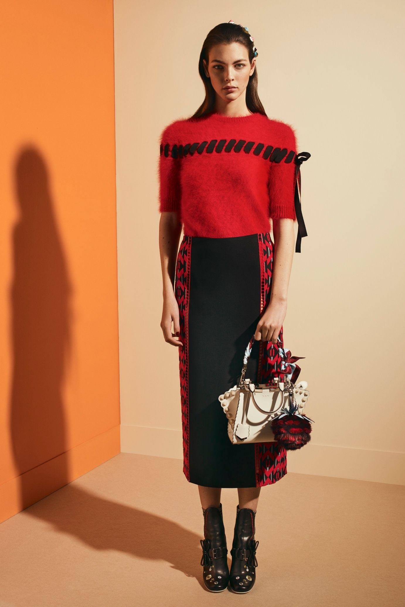 Silk Wool Dress? Fall/winter Fendi xDbC8