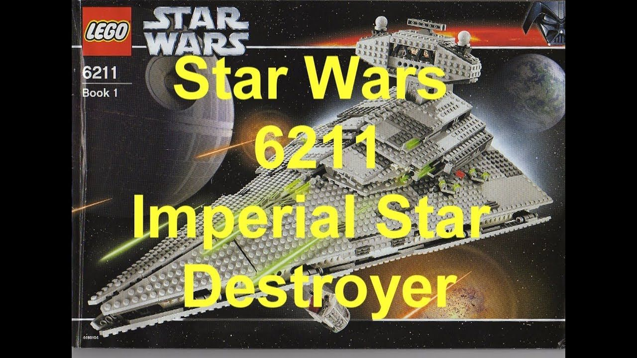 Lego 6211 Star Wars Imperial Star Destroyer Instructions Manual