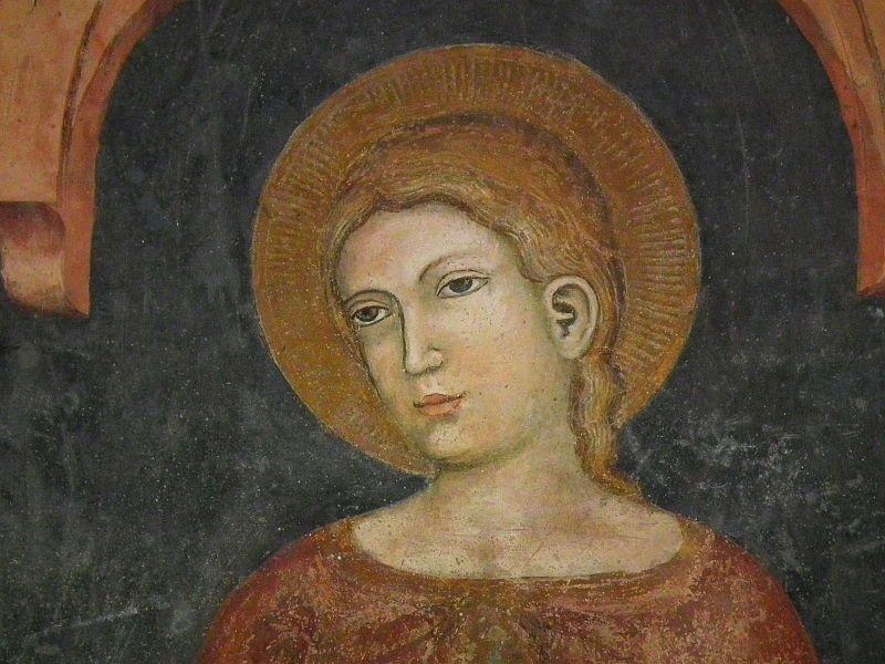 Verona, Basilica di San Zeno, frescos 005.JPG