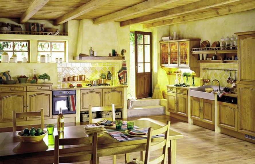 French Country Kitchens Idea : | French Country | Country ...
