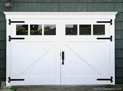 Barn Garage Doors note: realcarriagedoors #20 classic z brace carriage doors on