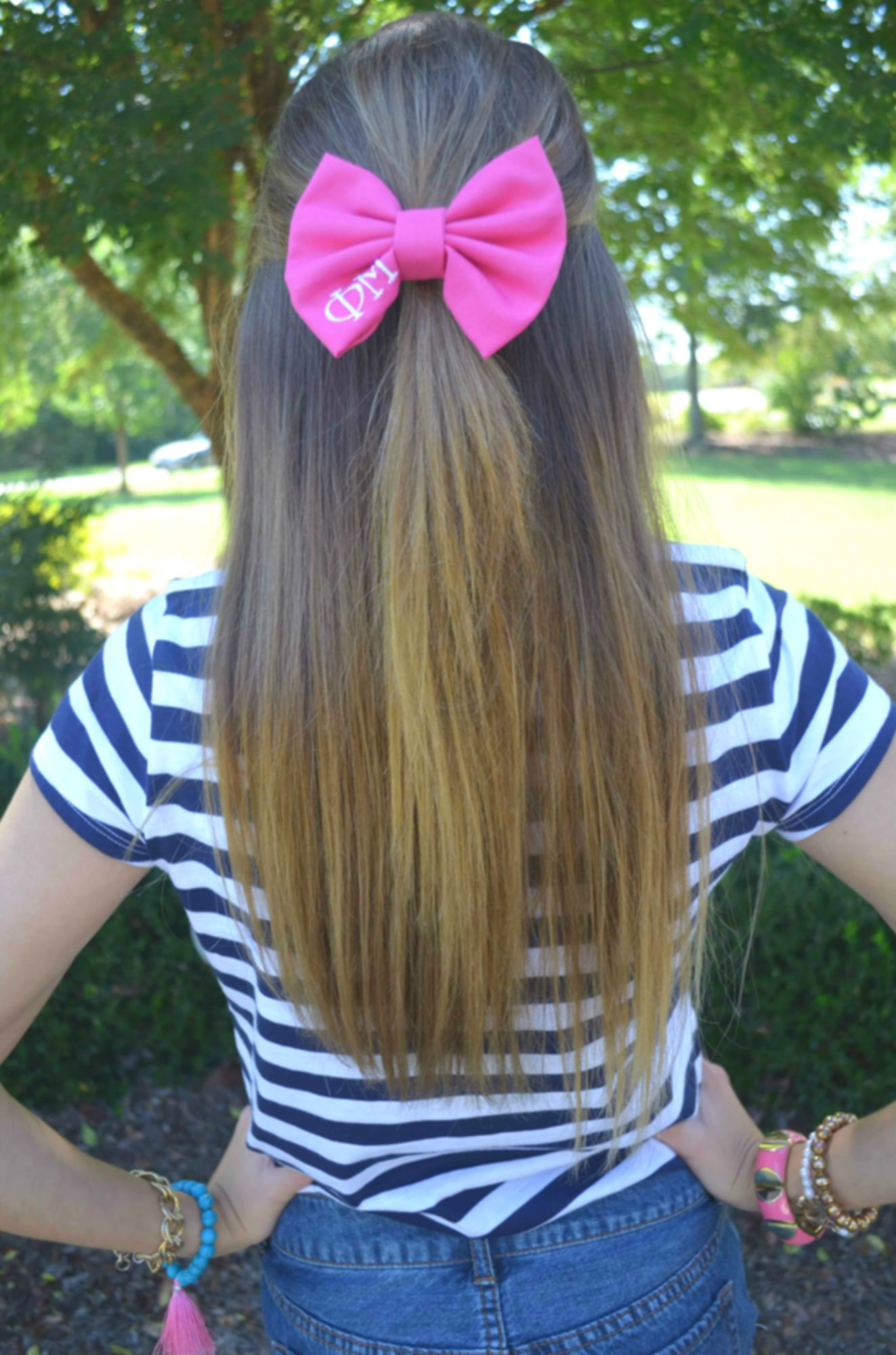 Phi mu bow bows and kites lace and fringe blog accessorize
