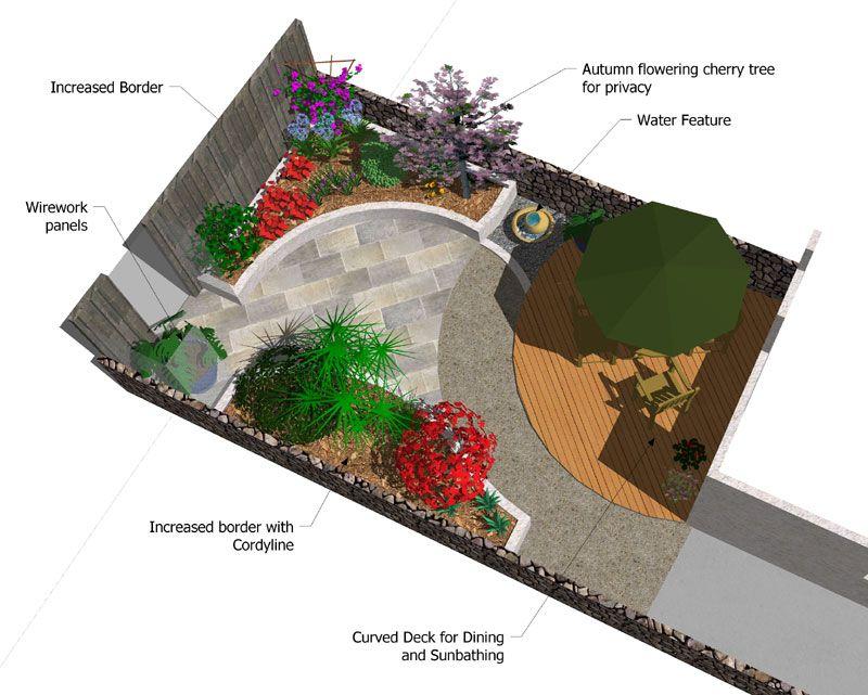 Small garden design future house ideas pinterest for Really small garden ideas